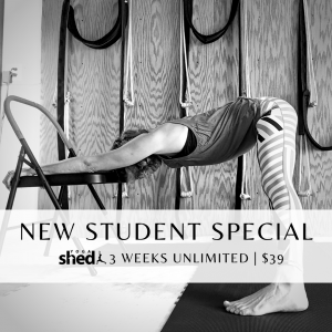 New Student Special $39 | 3-Weeks Unlimited
