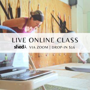 Live class via Zoom